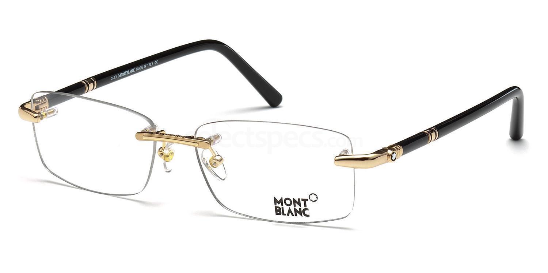 028 MB0476 Glasses, Mont Blanc