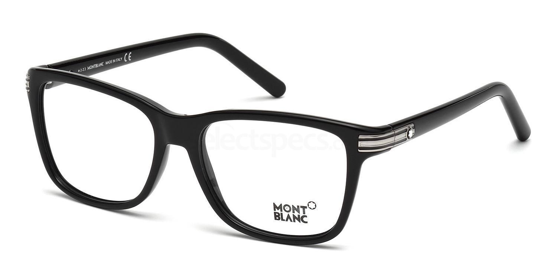 001 MB0477 Glasses, Mont Blanc