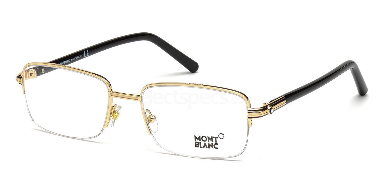 030 MB0478 Glasses, Mont Blanc