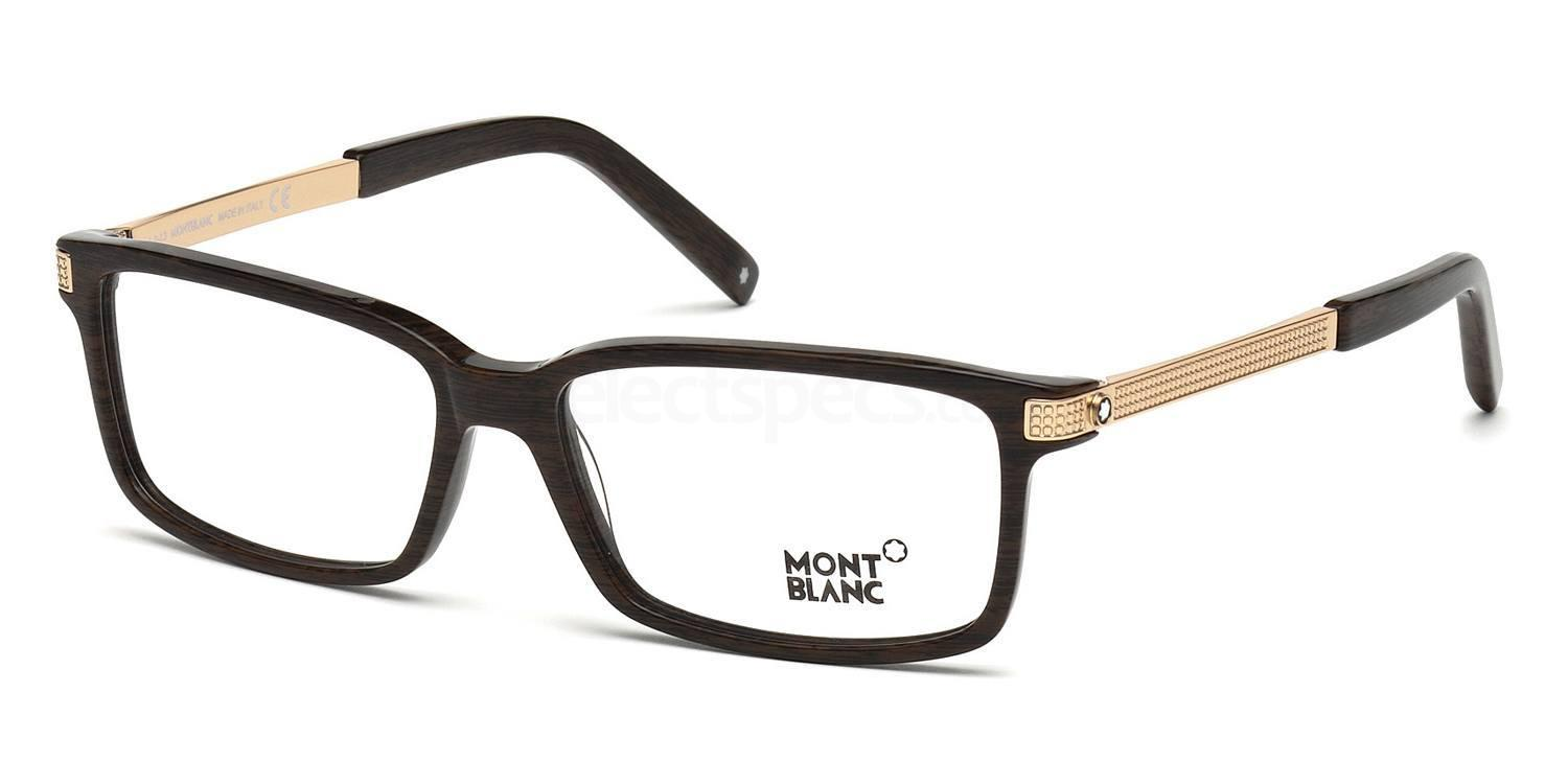052 MB0480 Glasses, Mont Blanc