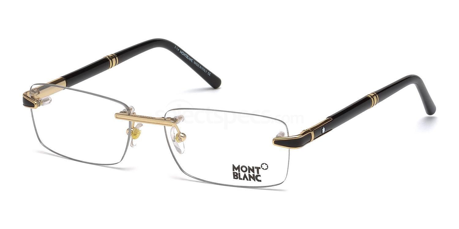 030 MB0490 Glasses, Mont Blanc
