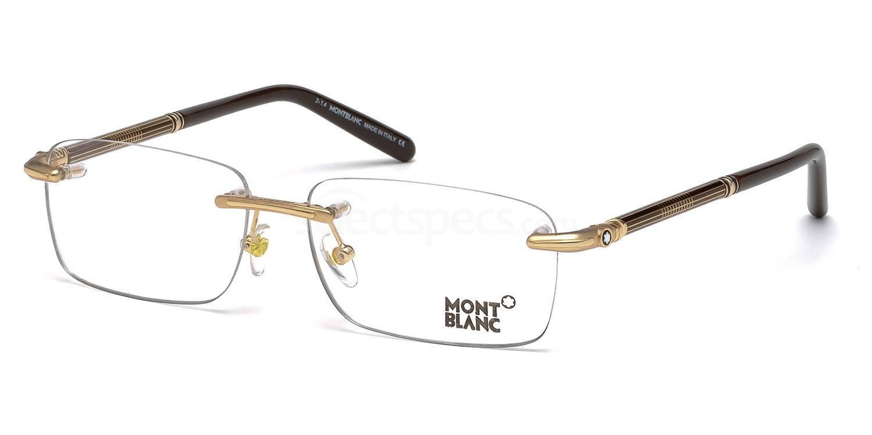 028 MB0492 Glasses, Mont Blanc