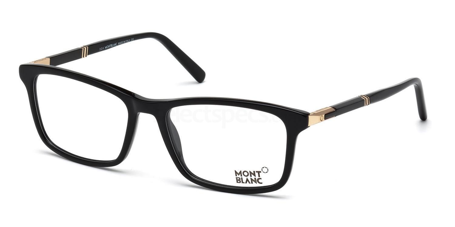 001 MB0540 Glasses, Mont Blanc
