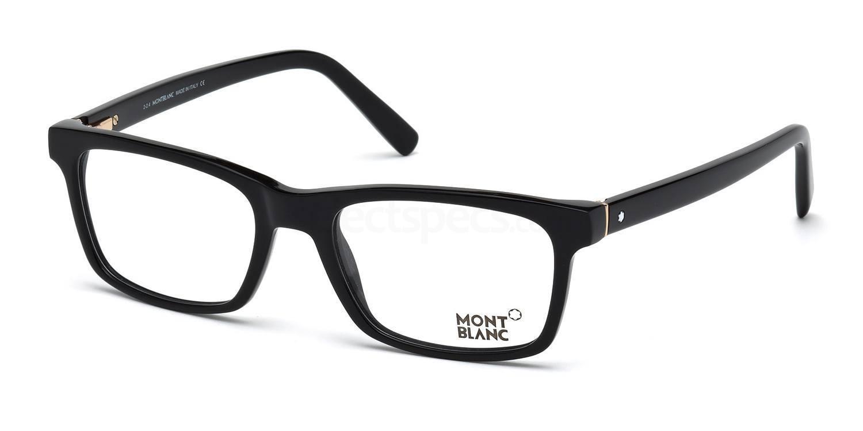 001 MB0541 Glasses, Mont Blanc