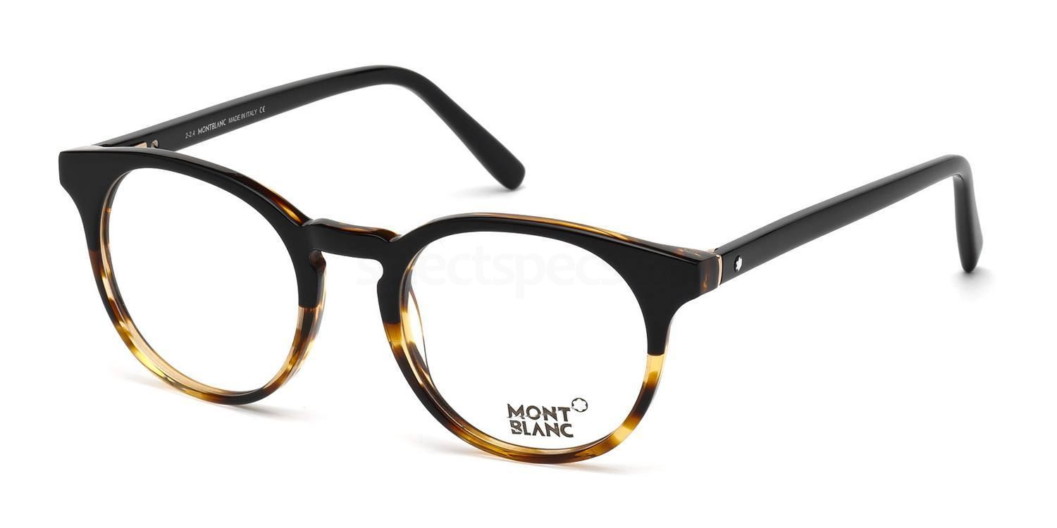 005 MB0542 Glasses, Mont Blanc