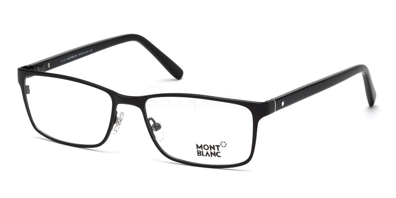 002 MB0543 Glasses, Mont Blanc