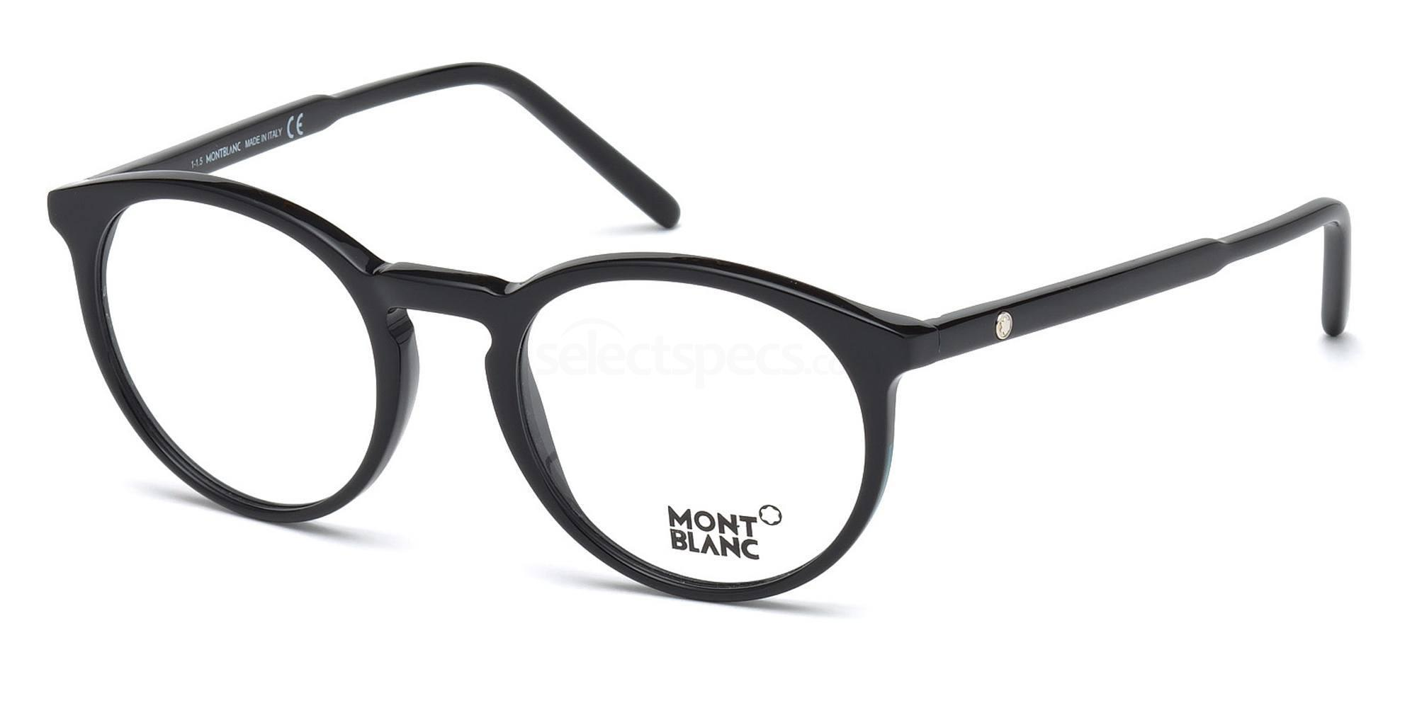 001 MB0554  Glasses, Mont Blanc