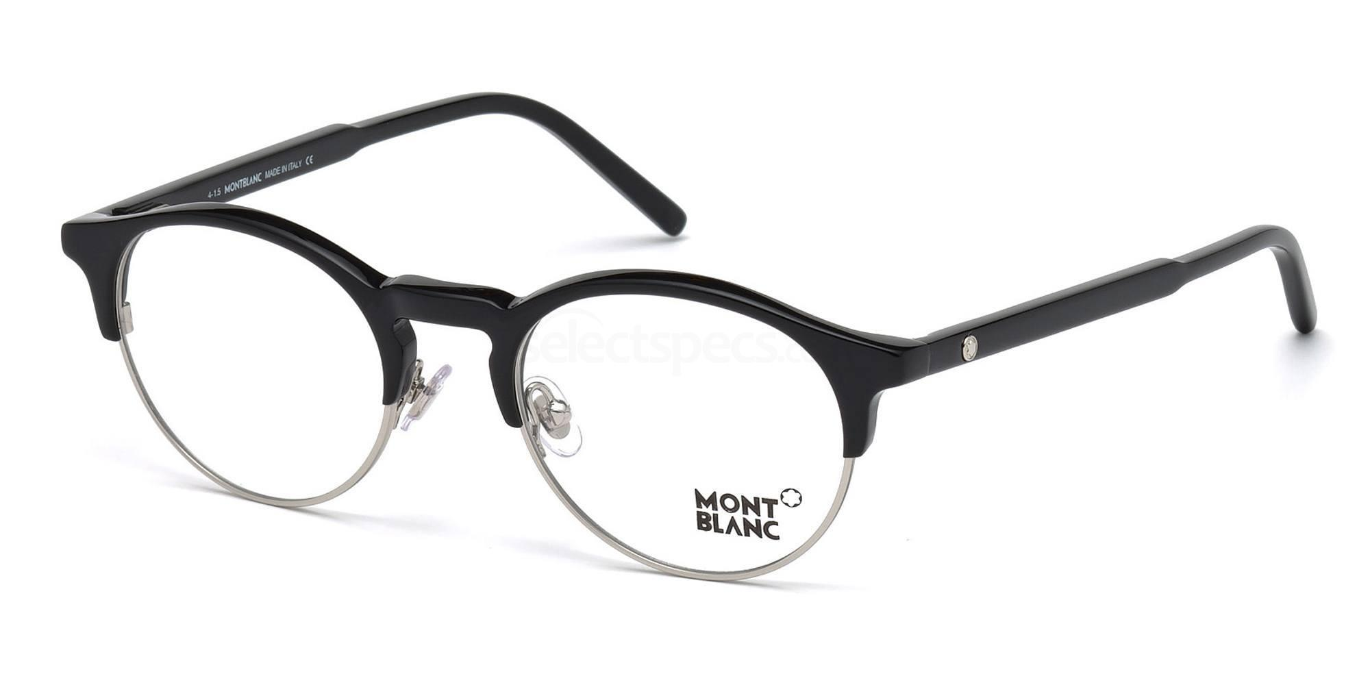 001 MB0555 Glasses, Mont Blanc