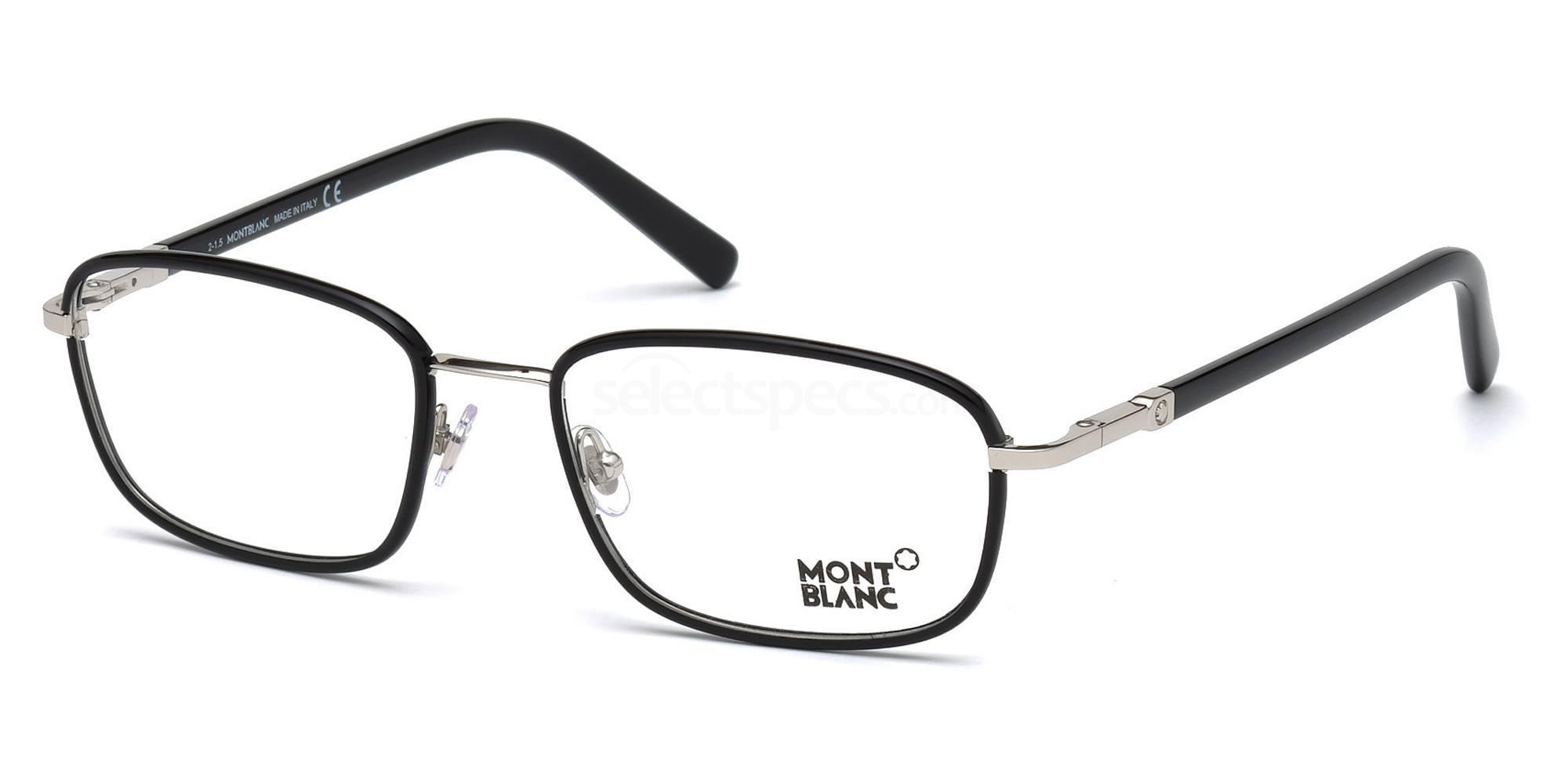 001 MB0556 Glasses, Mont Blanc
