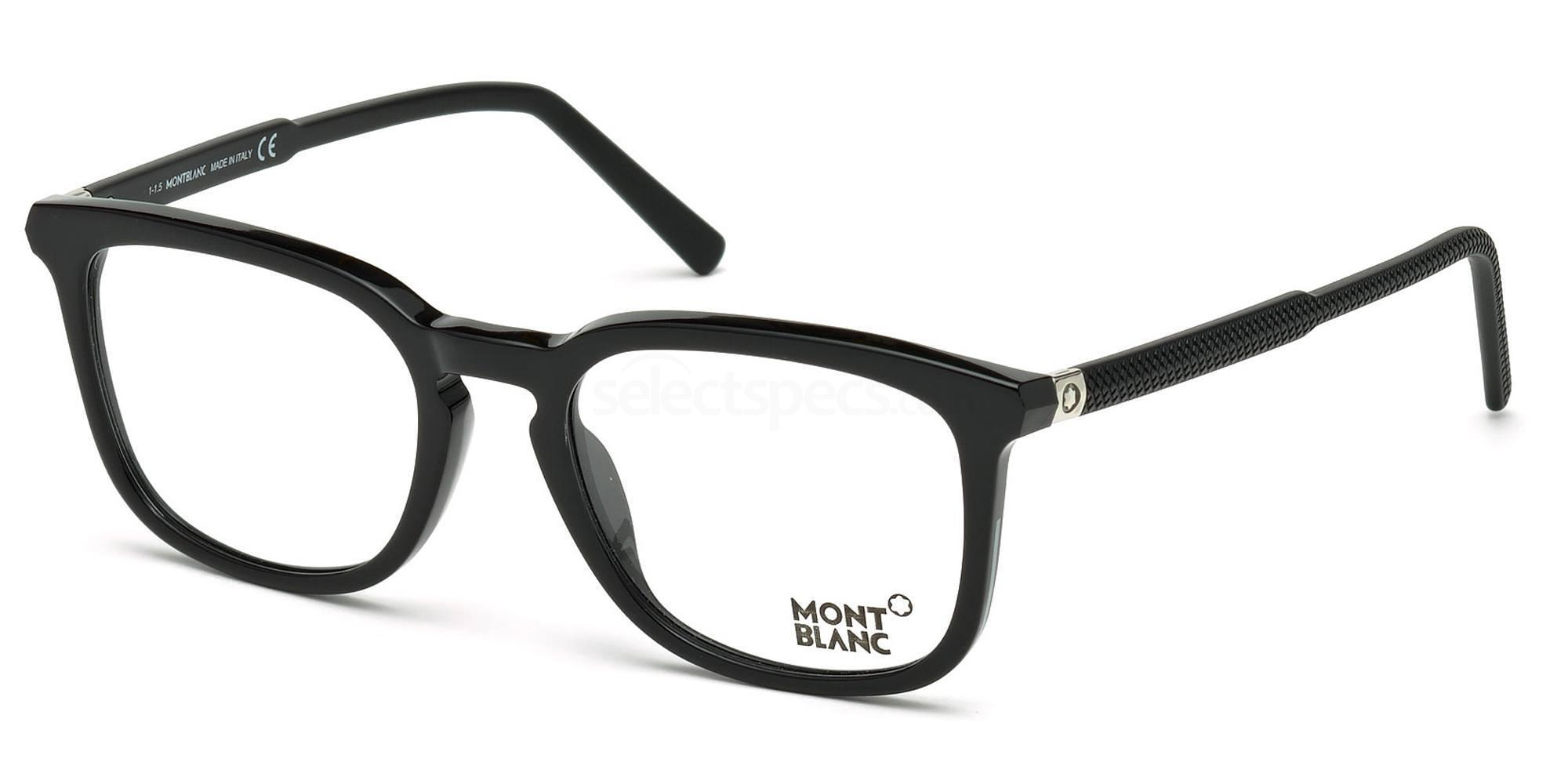 005 MB0609 Glasses, Mont Blanc