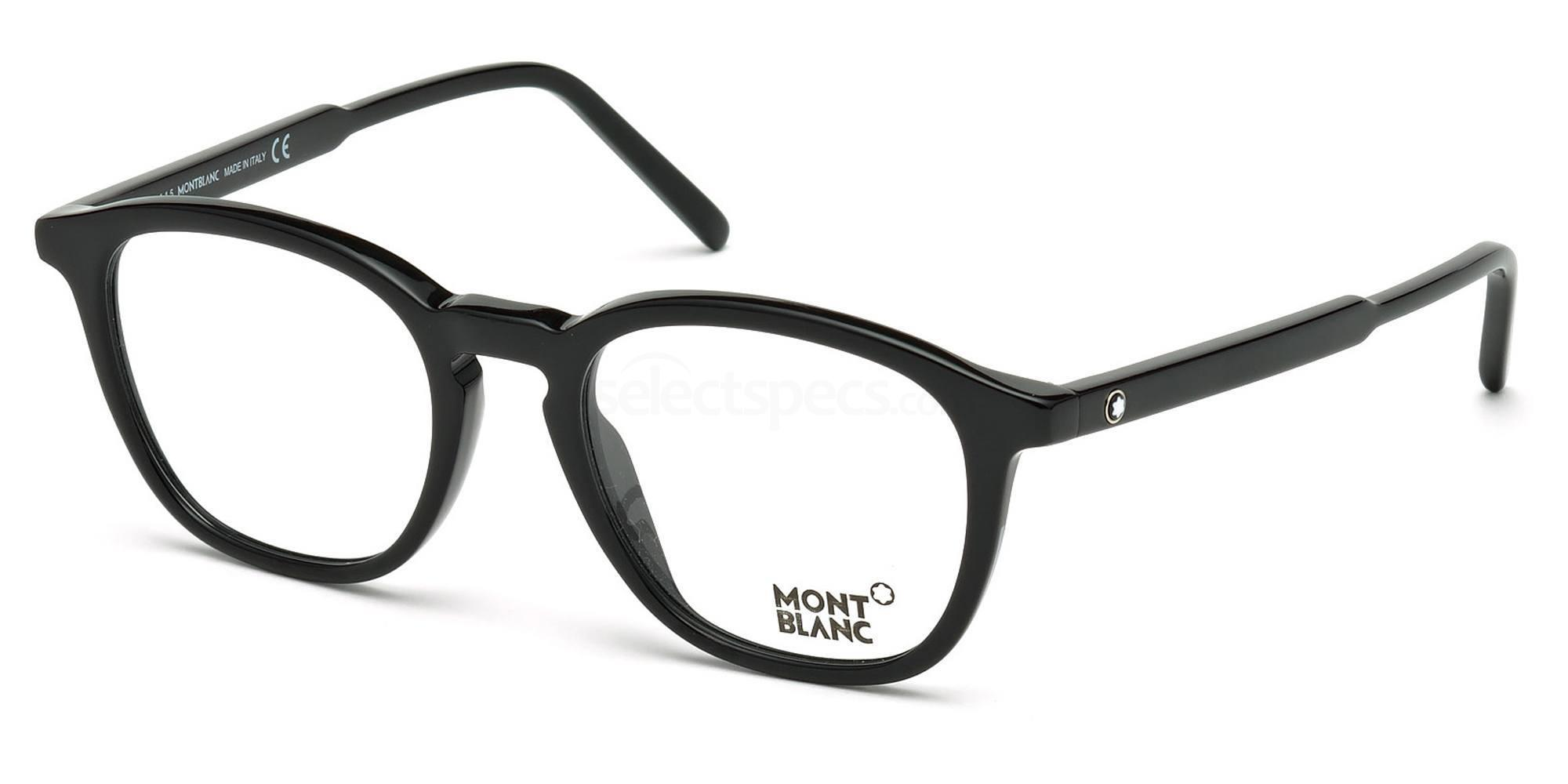 001 MB0613 Glasses, Mont Blanc