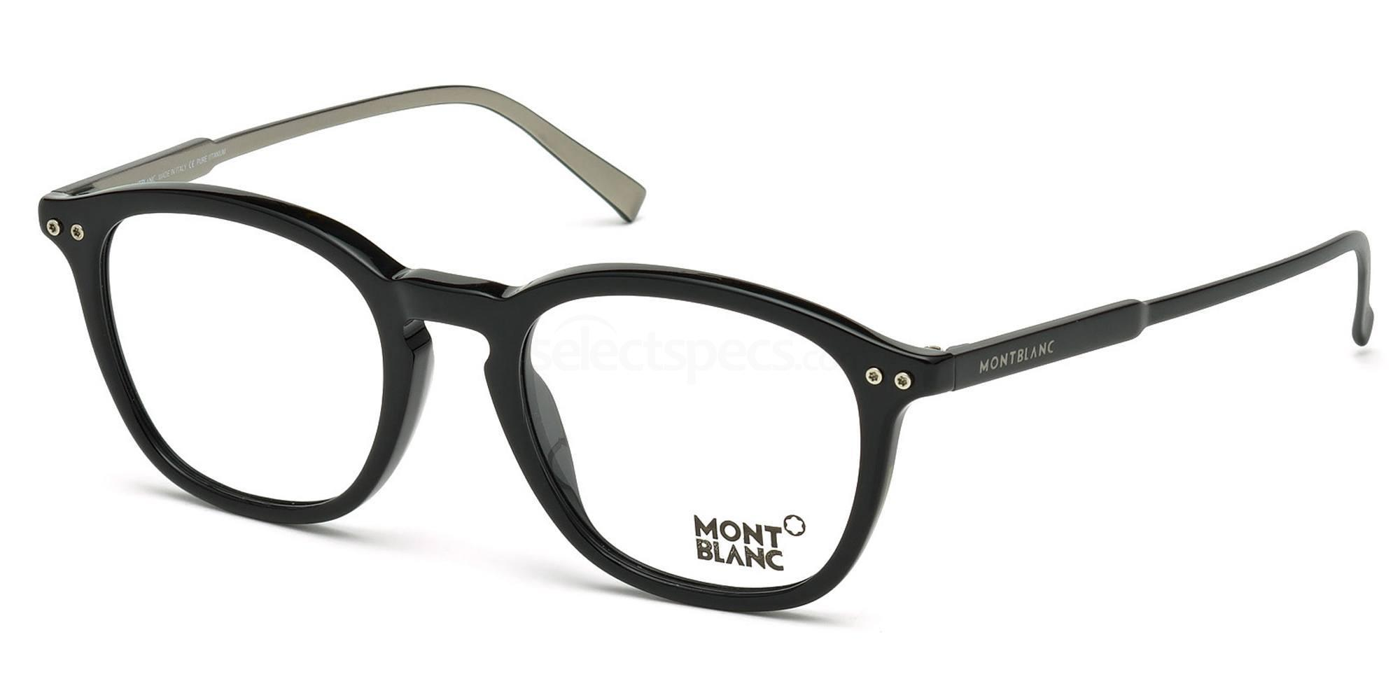 005 MB0614 Glasses, Mont Blanc