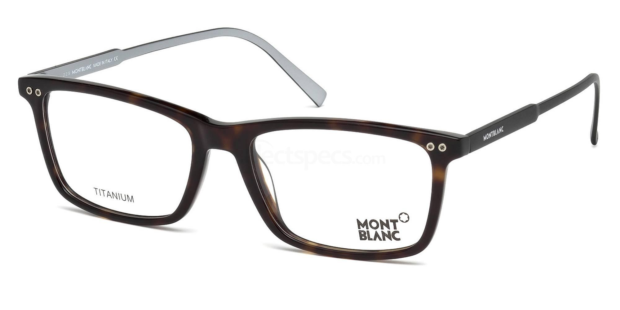 052 MB0615 Glasses, Mont Blanc