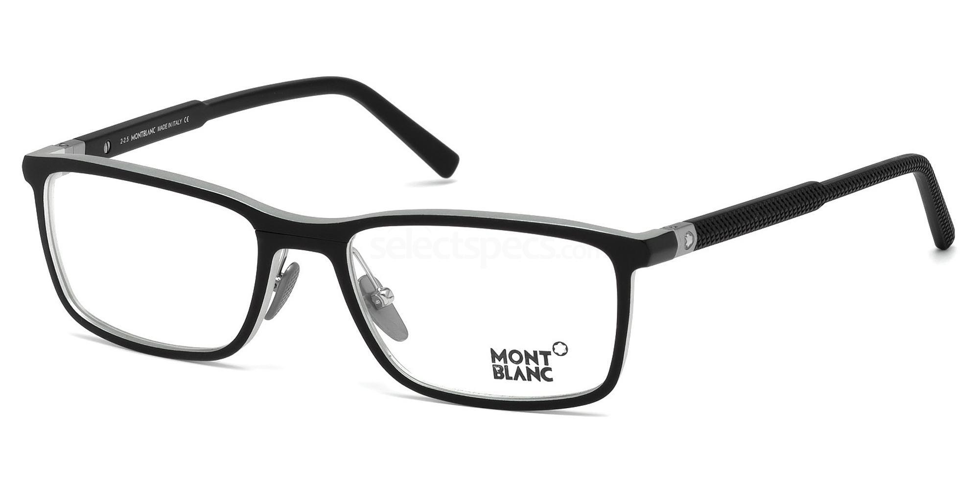 002 MB0616 Glasses, Mont Blanc