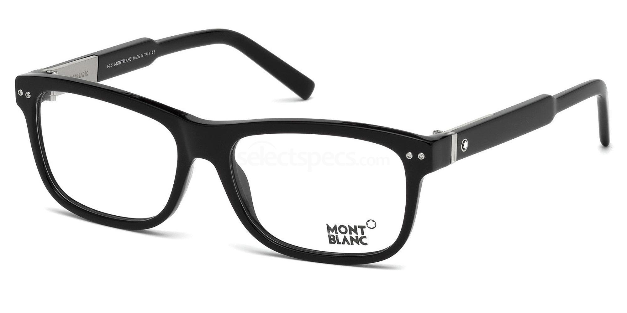 001 MB0618 Glasses, Mont Blanc