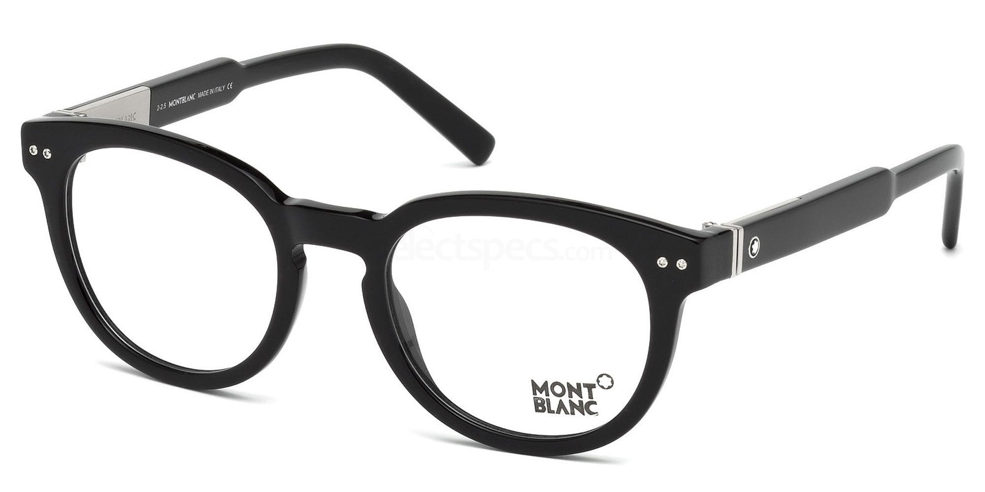 001 MB0619 Glasses, Mont Blanc