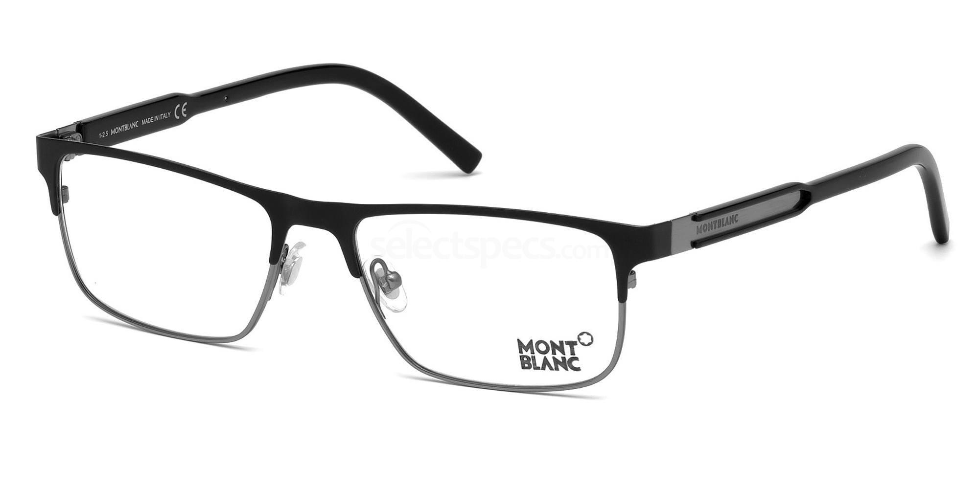 002 MB0624 Glasses, Mont Blanc