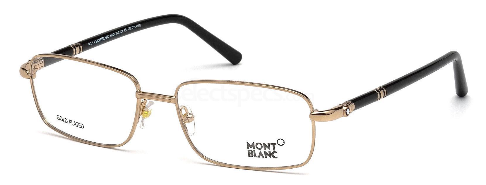 033 MB0525 Glasses, Mont Blanc