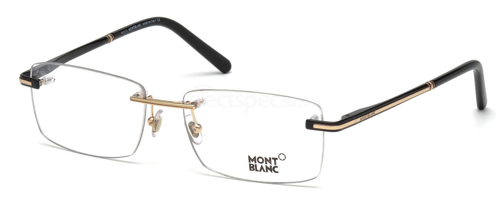 001 MB0577 Glasses, Mont Blanc