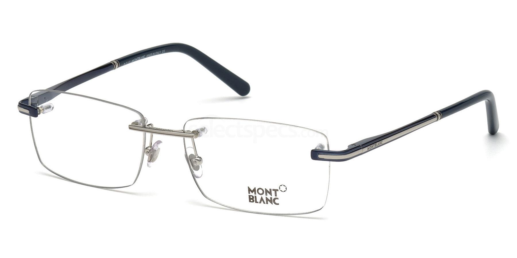 090 MB0577 Glasses, Mont Blanc