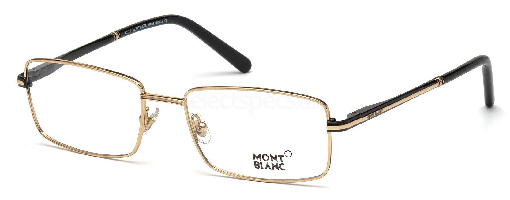 001 MB0578 Glasses, Mont Blanc