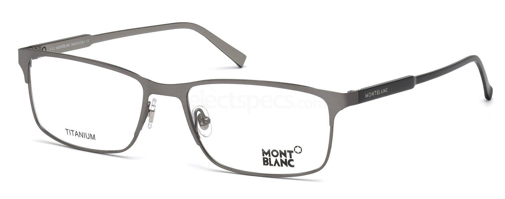 015 MB0627 Glasses, Mont Blanc