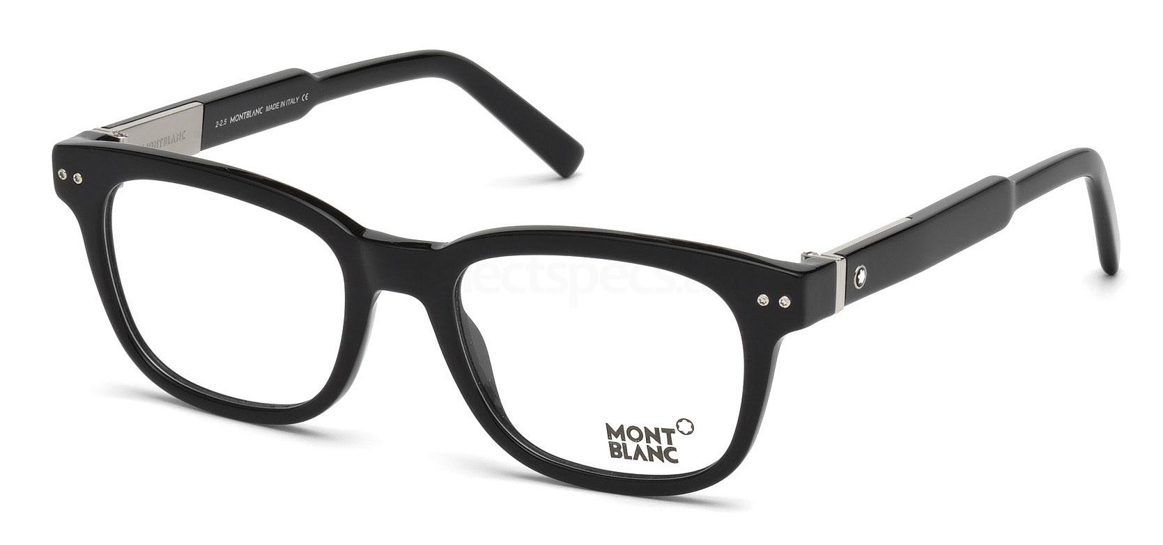 001 MB0628 Glasses, Mont Blanc