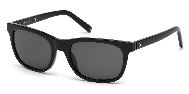 01A MB507S Sunglasses, Mont Blanc