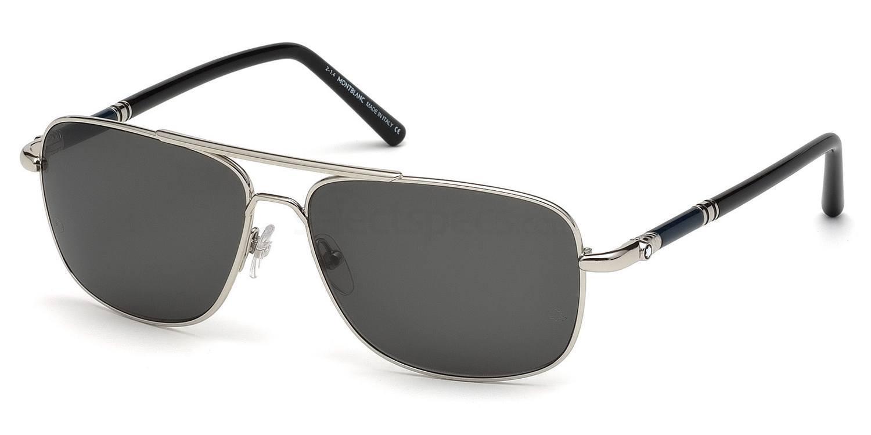 16A MB508S Sunglasses, Mont Blanc