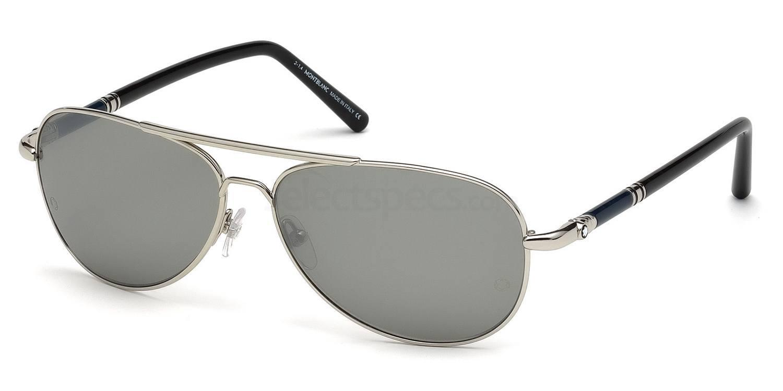 16C MB509S Sunglasses, Mont Blanc