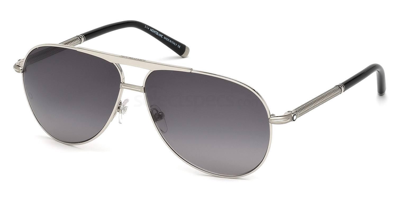 16B MB517S Sunglasses, Mont Blanc