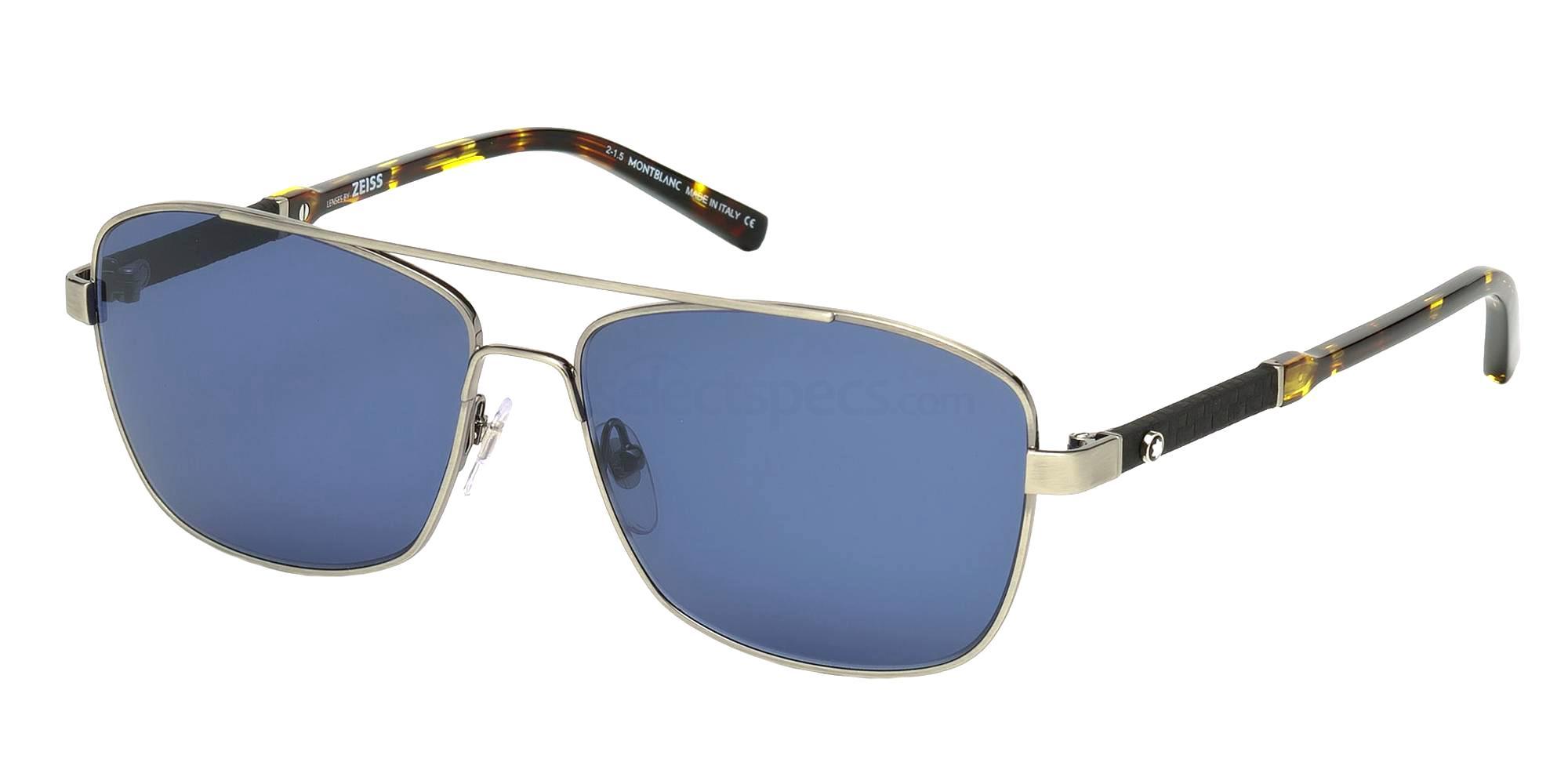 08V MB589S Sunglasses, Mont Blanc