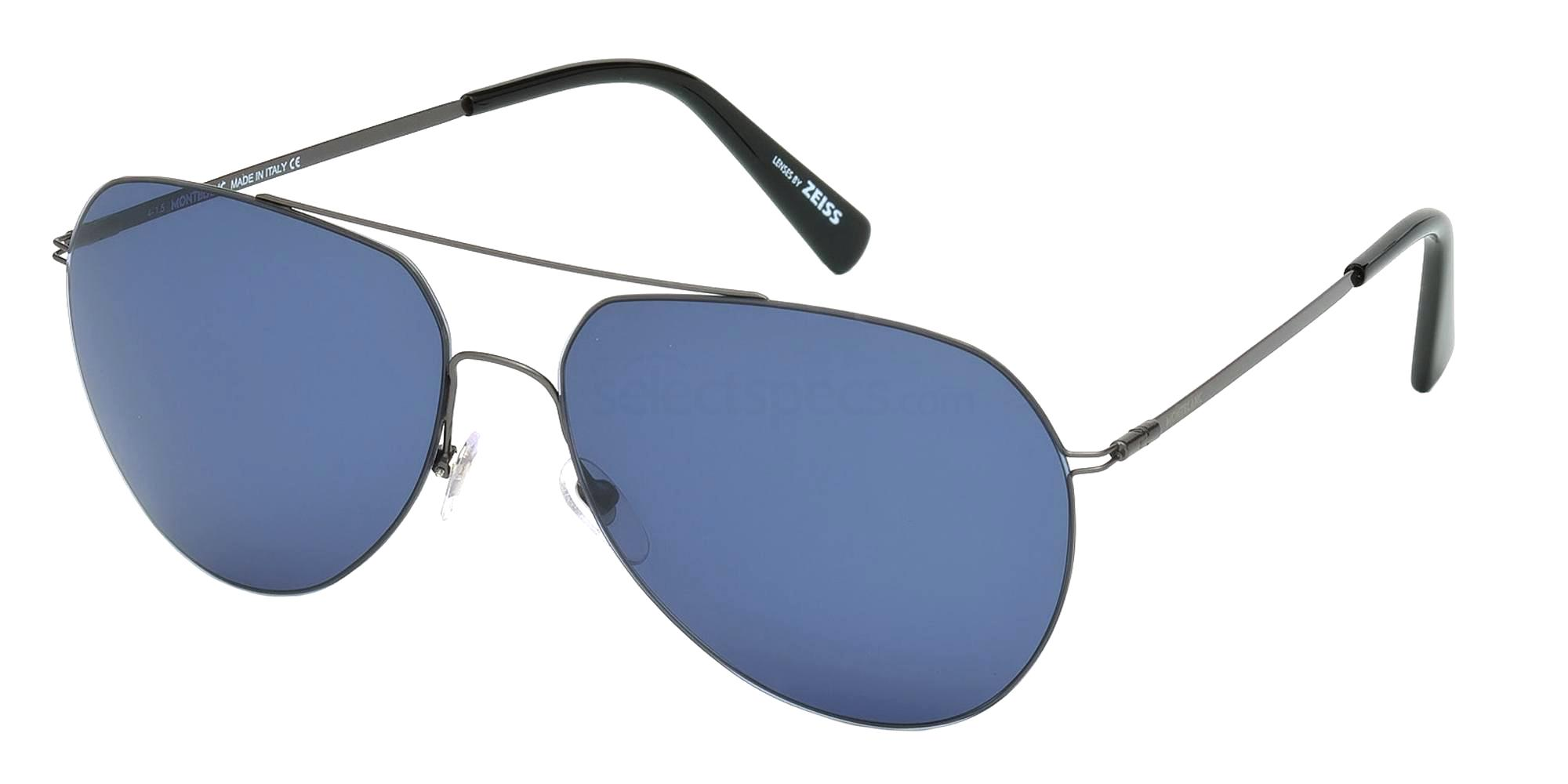 08V MB595S Sunglasses, Mont Blanc