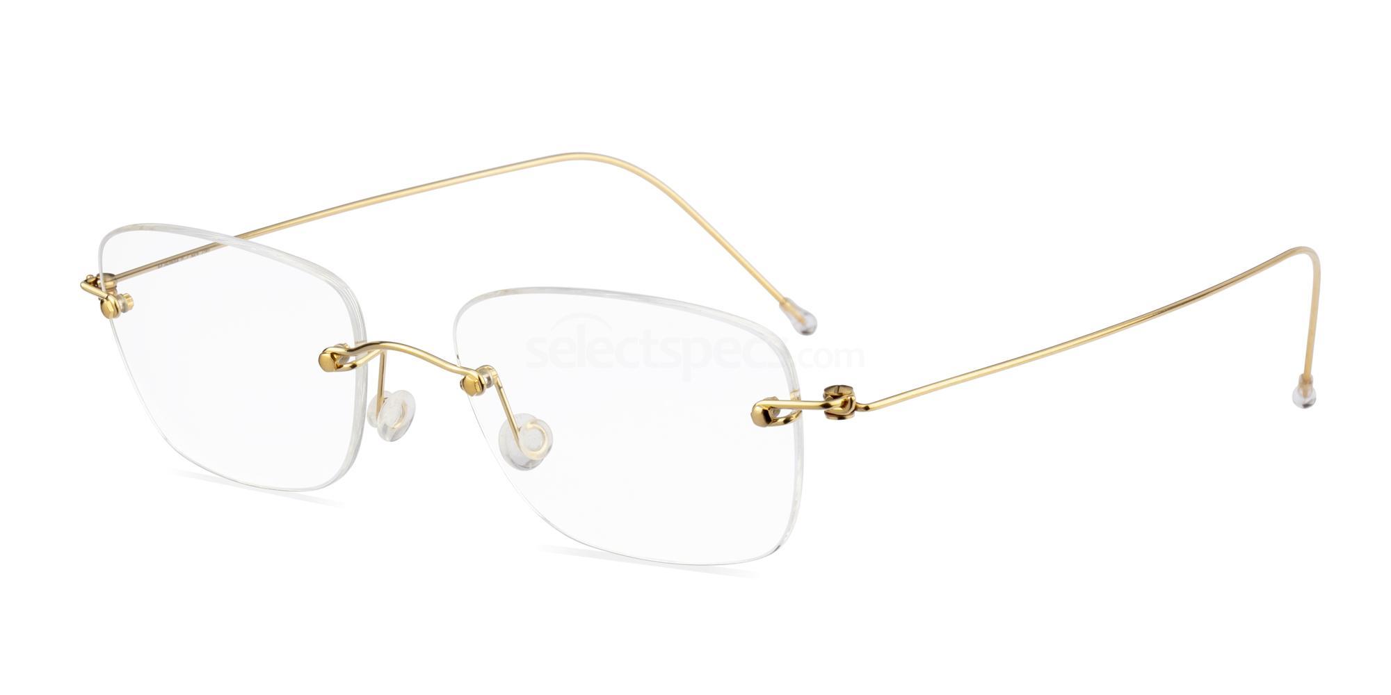 23 Minima-2 Gold - Invisibles Glasses, MINIMA