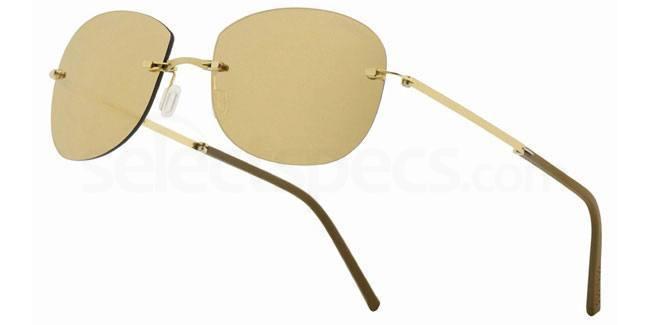 033 Minima Pocket Gold 24 carats FM 893 (color lens 48) Sunglasses, MINIMA