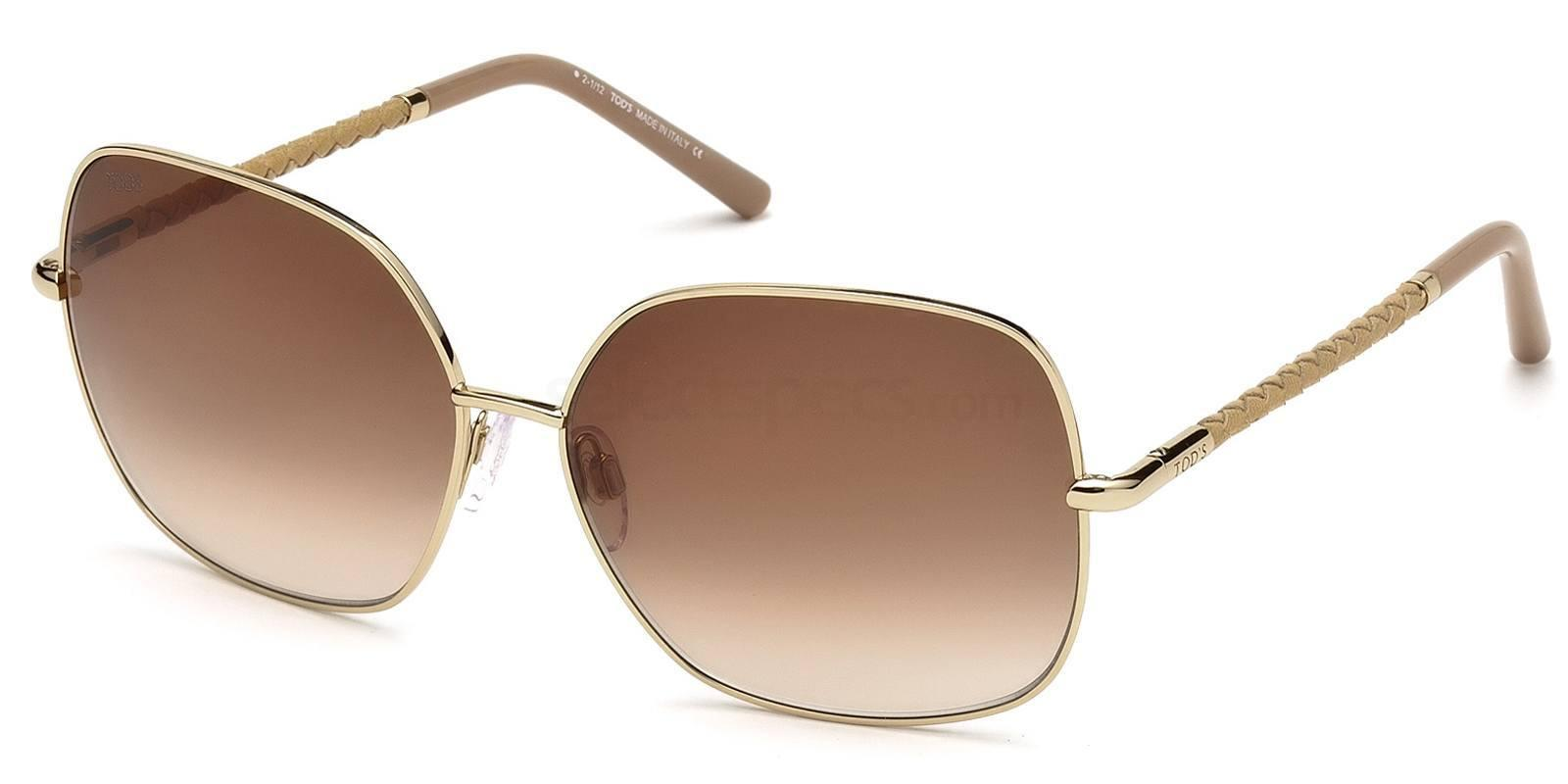 28F TO0050 Sunglasses, TODS