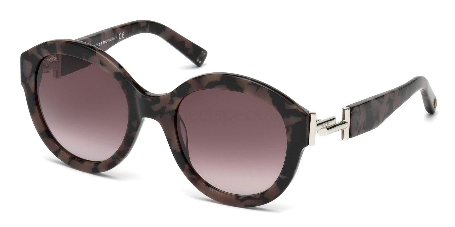 55T TO0208 Sunglasses, TODS
