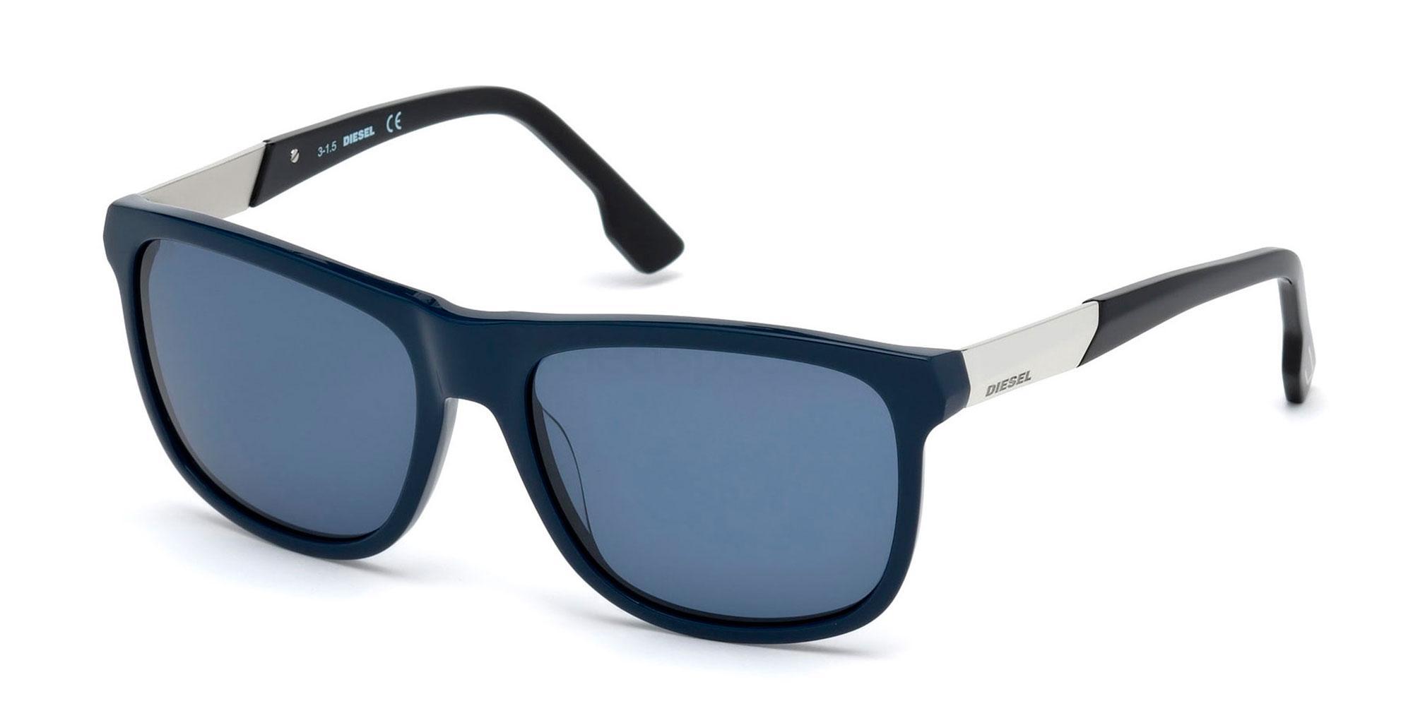 90V DL0187 Sunglasses, Diesel