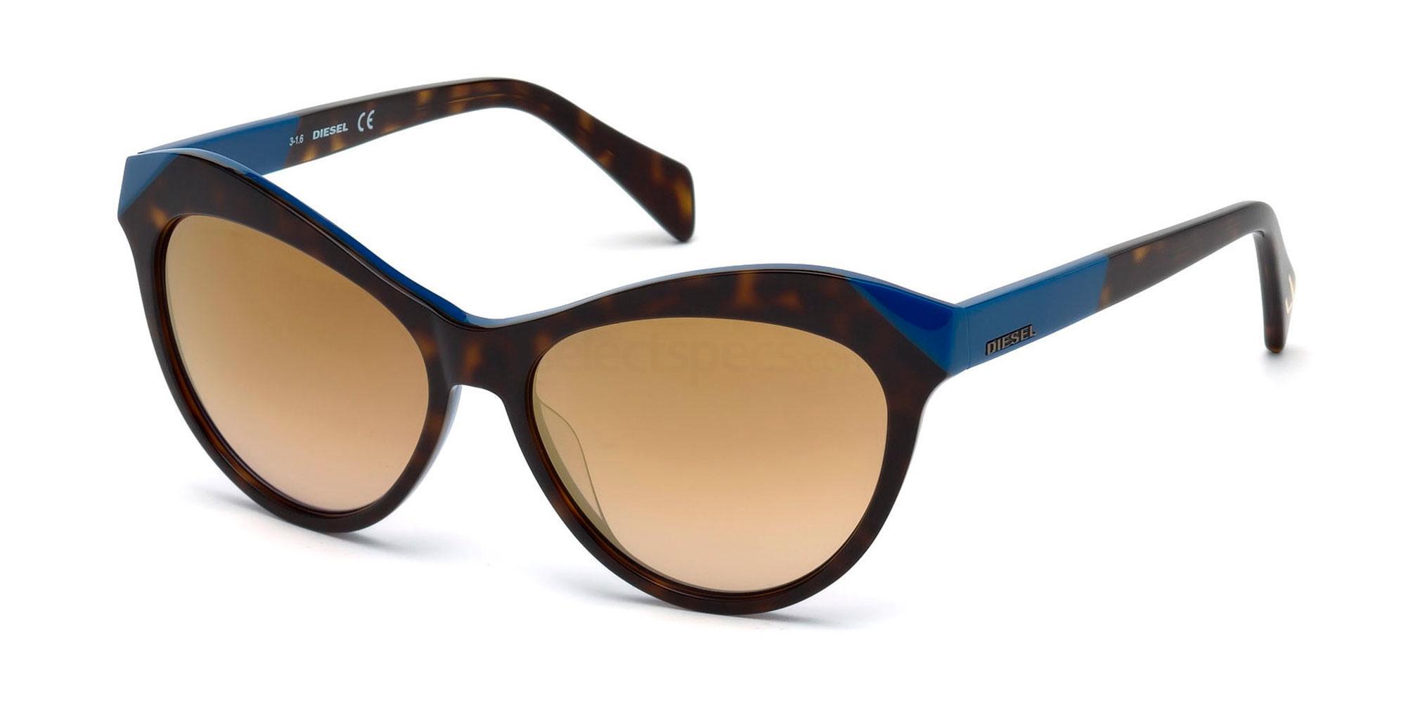 56L DL0225 Sunglasses, Diesel