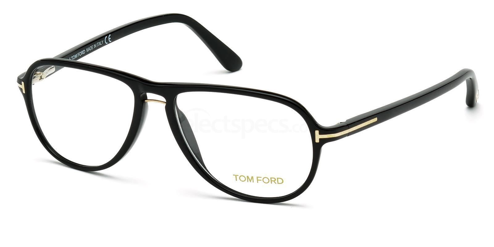 b39b88ce0b6 Check out our Tom Ford FT5380 glasses which feature a slightly oversized  aviator look in  Shiny Black  or two other stylish colours…
