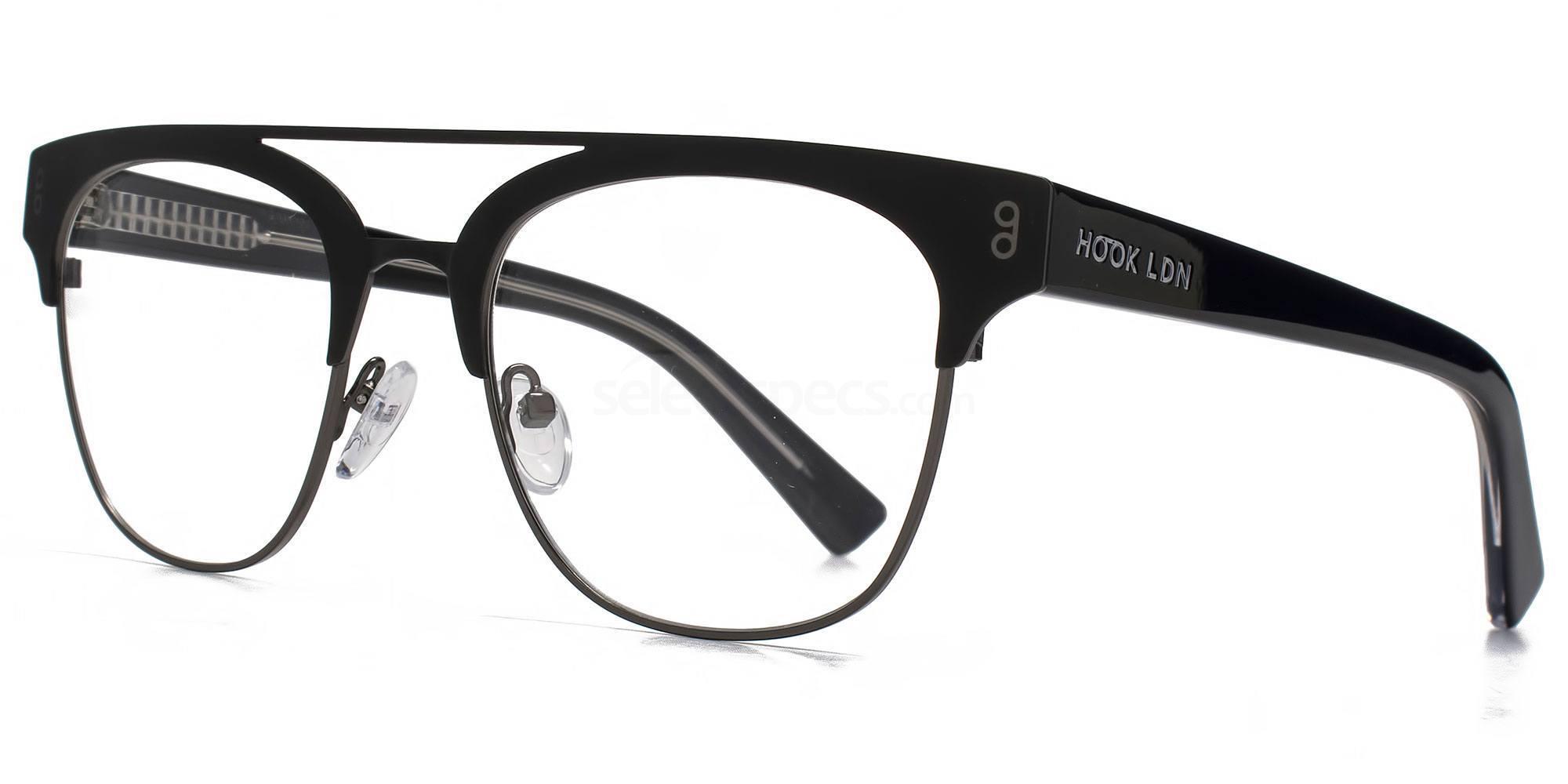 BLK HKS005 - FARAWAY Glasses, Hook LDN