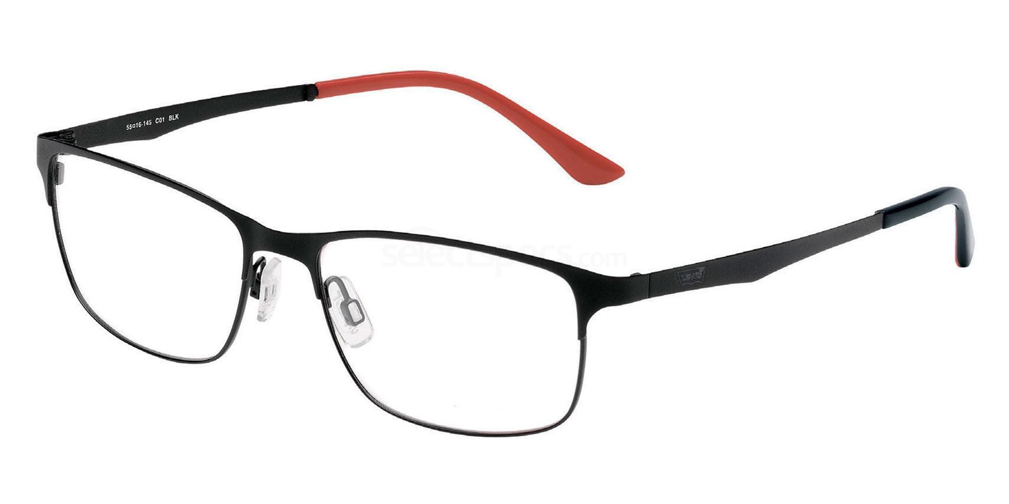 01 BLK LS103 Glasses, Levi's Eyewear