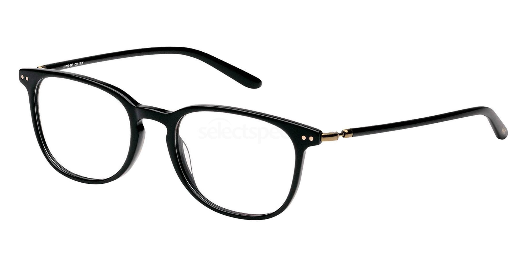 01 BLK LS108 Glasses, Levi's Eyewear