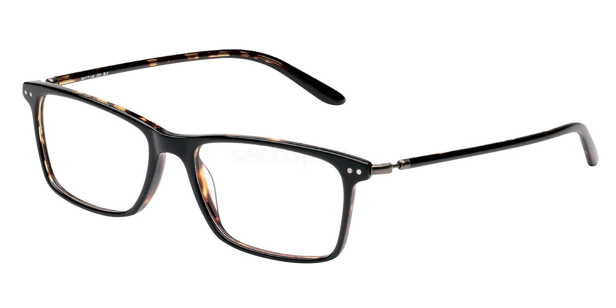 01 BLK LS109 Glasses, Levi's Eyewear