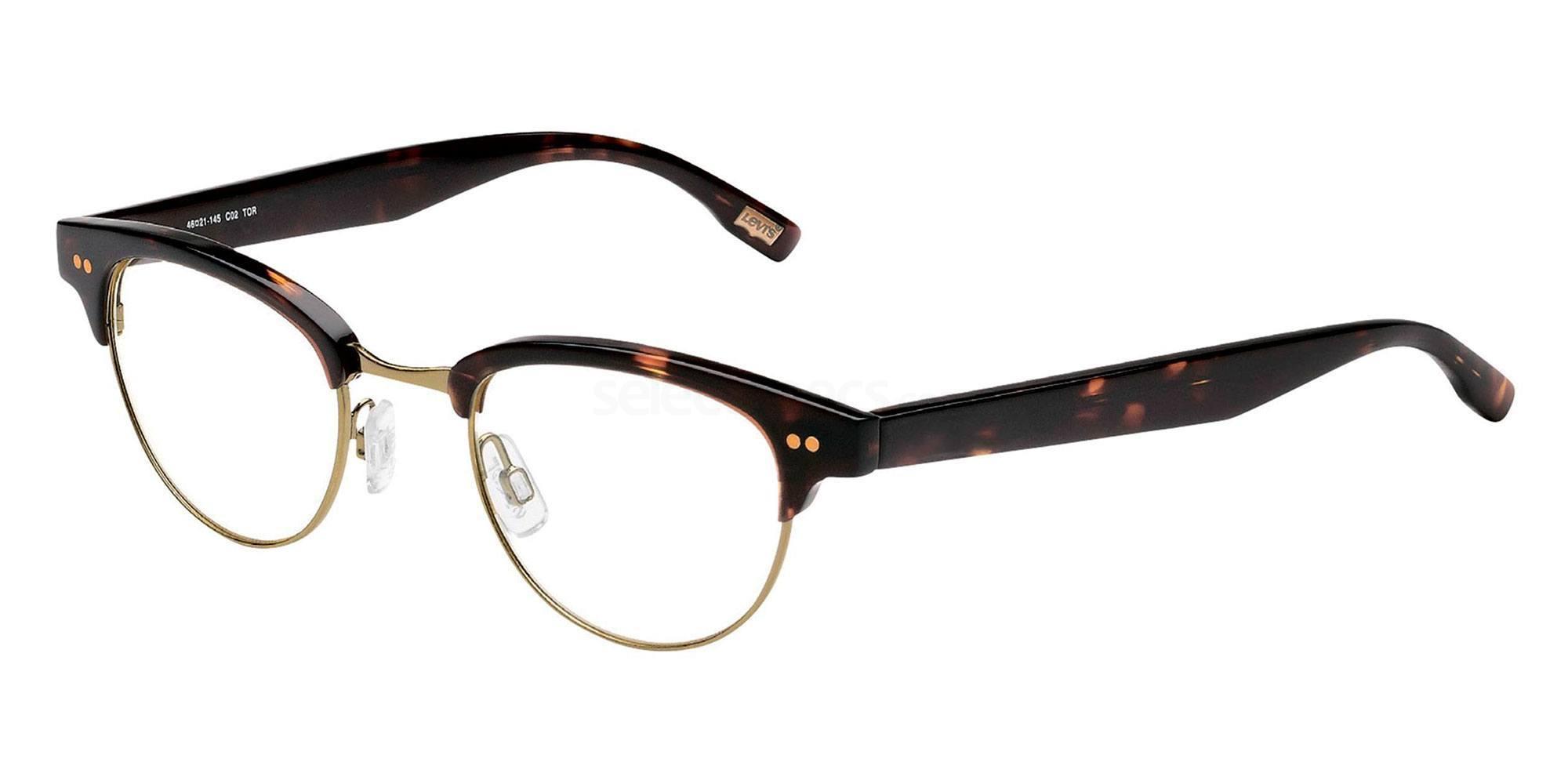 02 TOR LS111 Glasses, Levi's Eyewear