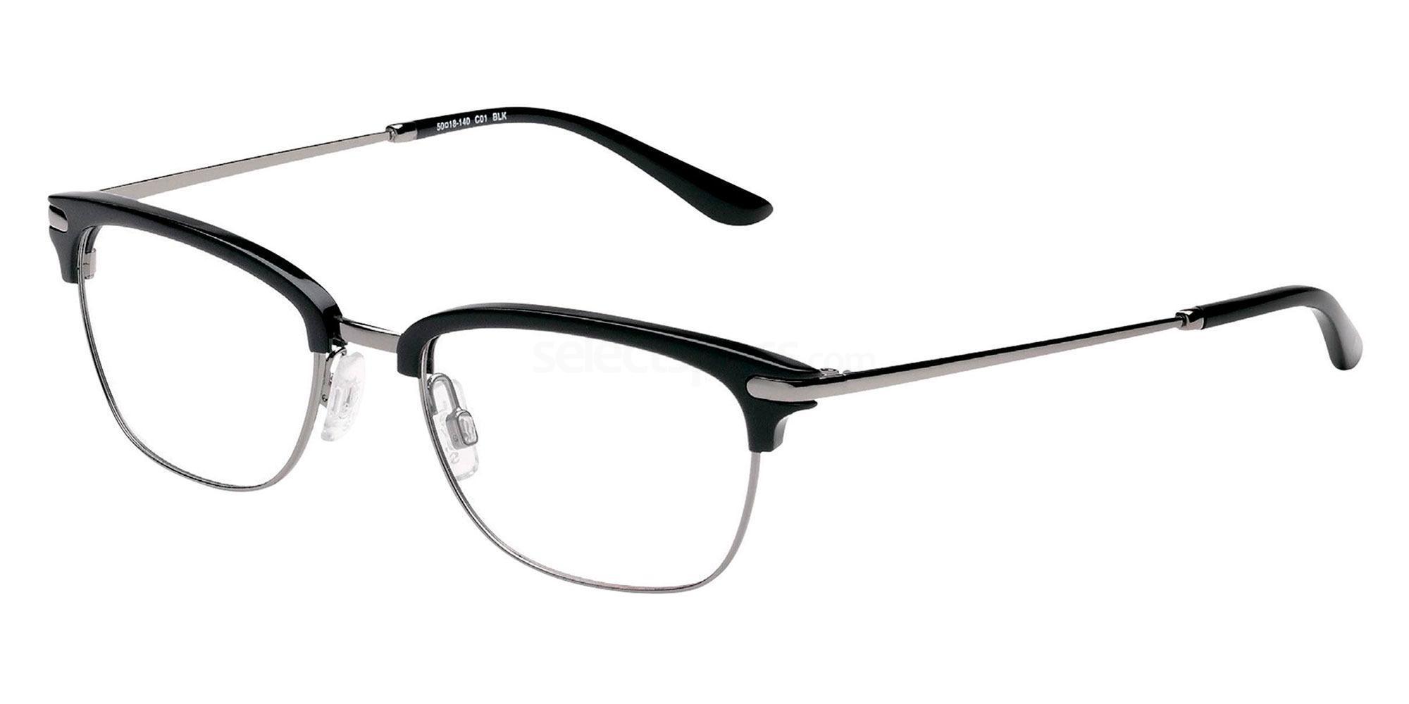 01 BLK LS112 Glasses, Levi's Eyewear