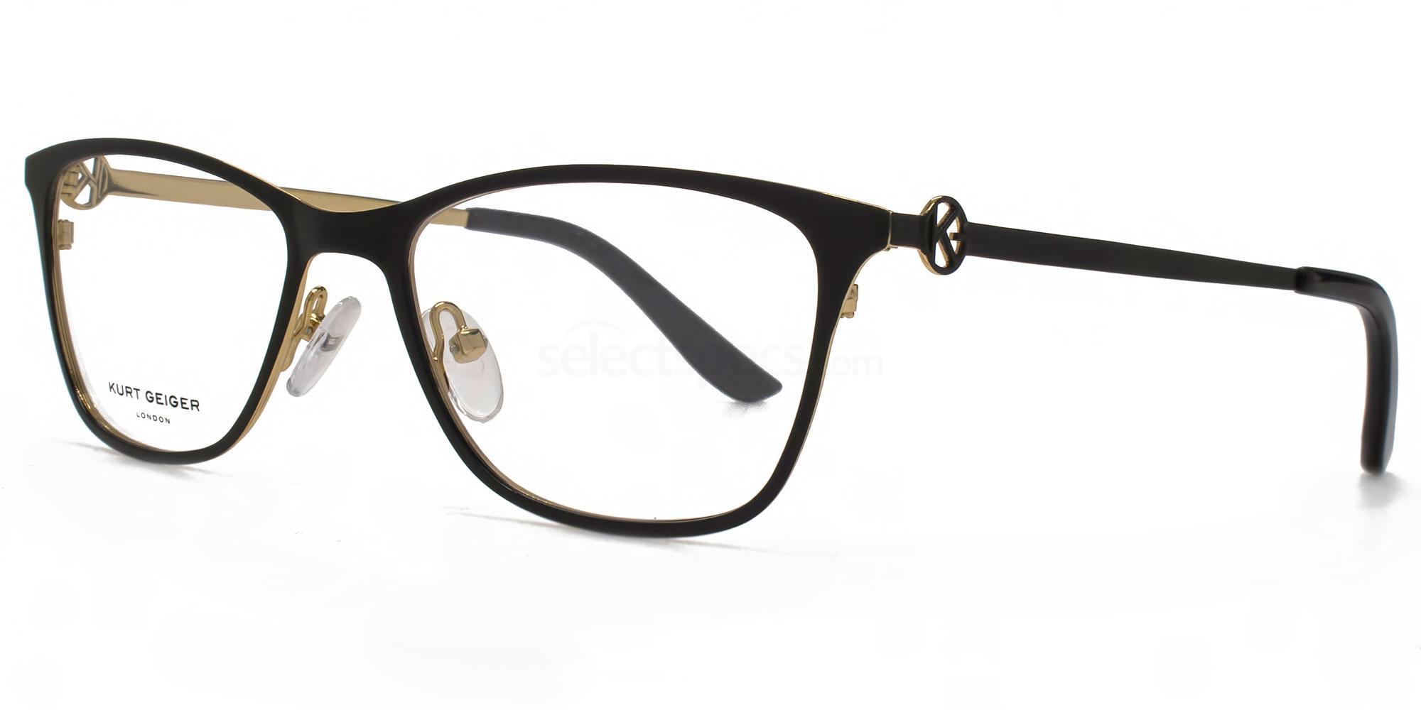 BLK KGS001 - AVA Glasses, Kurt Geiger London