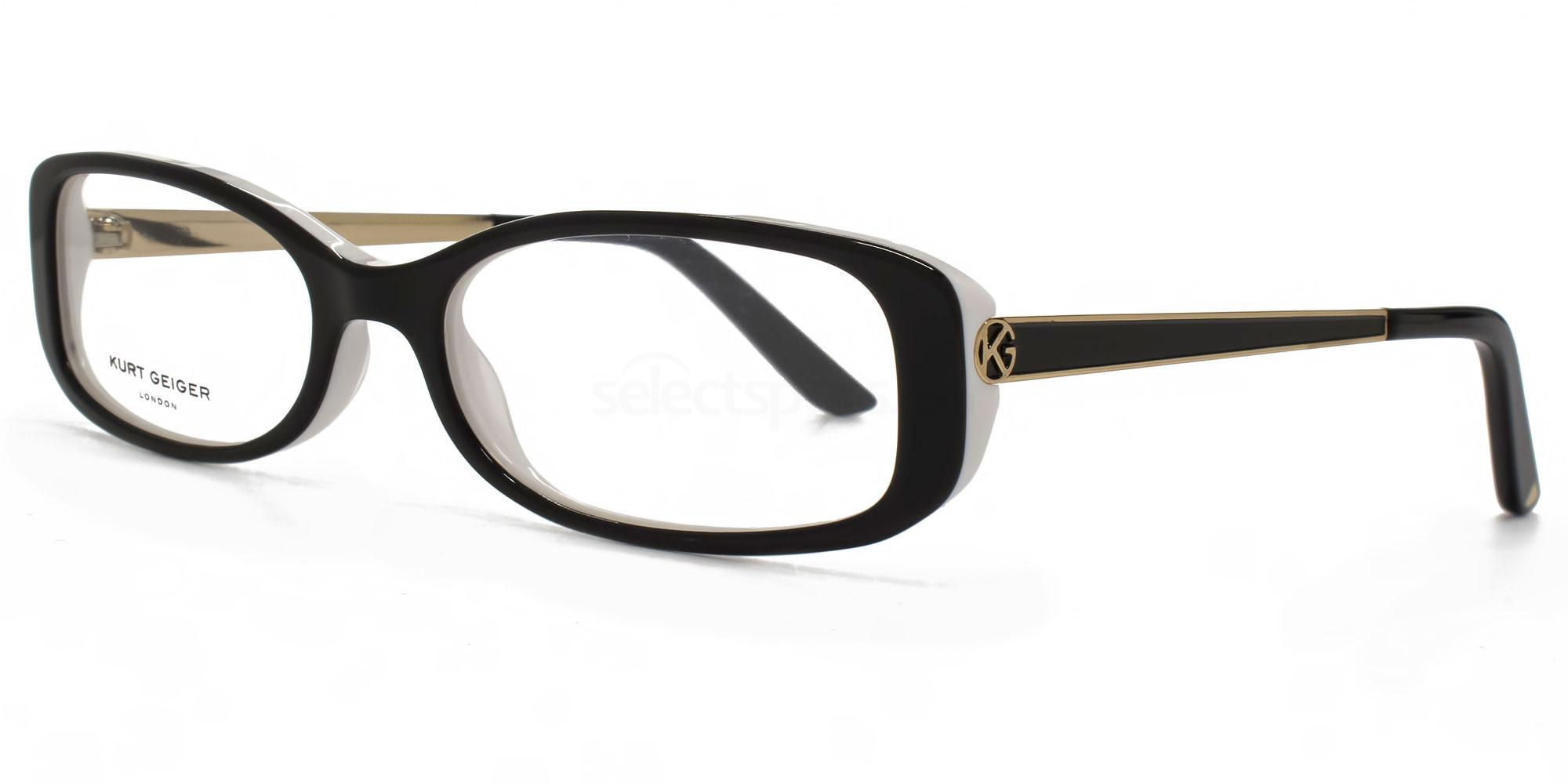 BLK KGS004 - SARAH Glasses, Kurt Geiger London
