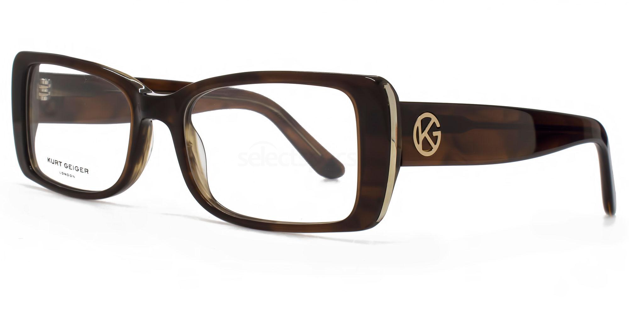 BRN KGS013 - ISABELLE Glasses, Kurt Geiger London
