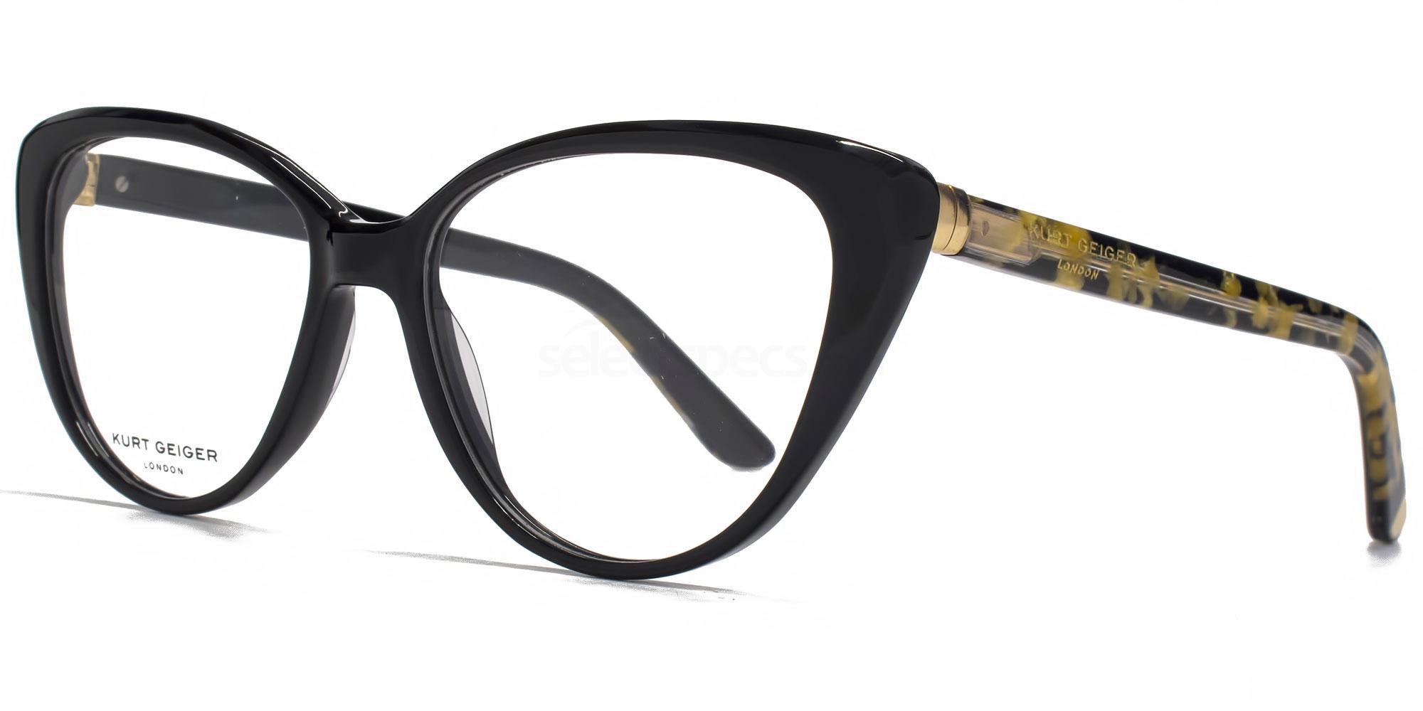 BLK KGS014 - LIBBY Glasses, Kurt Geiger London